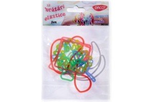 Bratari elastice fun 12/set BE125 Daco