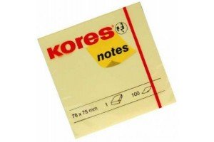 Post-it 75X75 100 file Kores