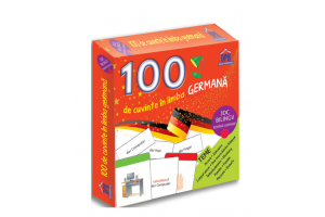 100 de cuvinte in limba germana. Joc bilingv - Editura Didactica Publishing House