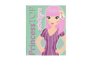 Princess top - stichers verde