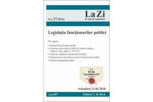 Legislatia functionarilor publici. Actualizat 21.02.2018