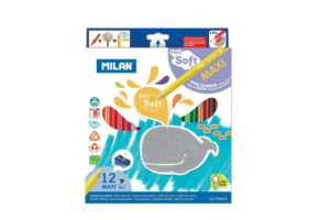 Creion color 12 supersoft - Milan