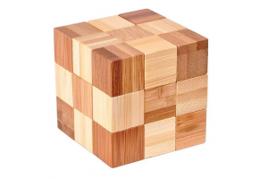 3D Bamboo Puzzle Snake Cubes - Ludicus
