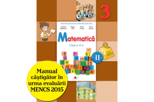 Manual Matematica - Clasa a III-a, sem II + CD