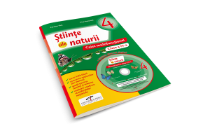 Stiinte ale naturii clasa a IV-a - Caiet multifunctional + CD