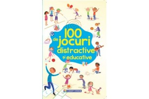 100 de jocuri distractive si educative - Rebecca Gilpin - Editura Corint