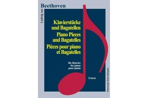 Beethoven - piano pieces and bagatelles