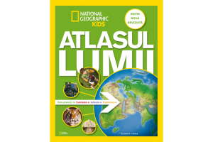 Atlasul lumii - National Geographic Kids - Editura Litera
