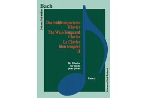 Bach - The Well - Tempered Clavier II (for piano)