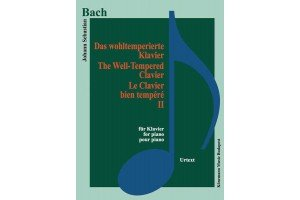 Bach – The well – Tempered clavier II (for piano)
