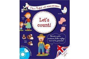 I learn English with Peter and Emily! Let's count! + CD