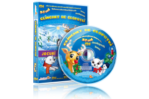 CD 4 – Clinclet de clopotei! - Jocuri educationale 3-7 ani