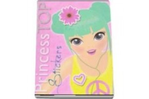 Princess top - stickers galben