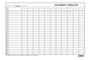 Document cumulativ A4 orizontal