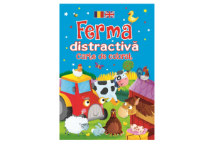 Ferma distractiva romana-engleza. Carte de colorat - Brown Watson - Editura Flamingo