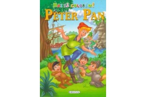 Hai sa coloram – Peter Pan
