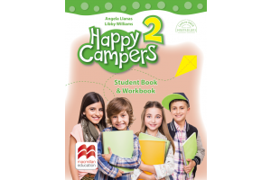 Happy Campers. Stuent's Book & Workbook - clasa a II-a + varianta audio gratuita online