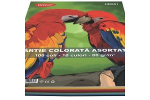 Hartie color A4 100 coli HR801 - Daco