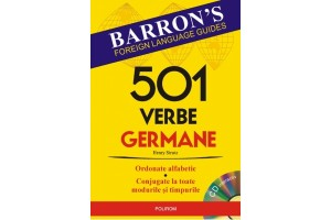 501 verbe germane (Contine CD)
