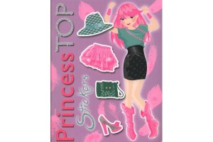 Princess Top - Stickers (violet)