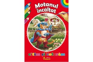 Citim si coloram: Motanul incaltat