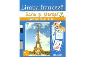Scrie si sterge - Limba franceza (elementaire)