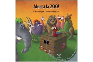 Alerta la zoo! - Carte + DVD
