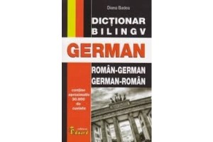 Dictionar bilingv roman-german / german-roman