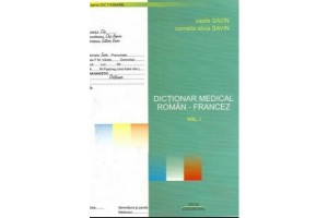 Dictionar medical roman-francez Vol. I