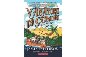 Vanatorii de comori. Vol. 2: Pericol pe Nil - James Patterson, Chris Grabenstein - Editura Corint Junior