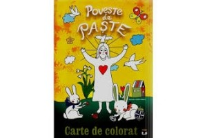 Poveste de Paste - Carte de colorat - Editura Pescarus
