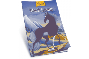 Povesti Clasice de colorat - Black Beauty
