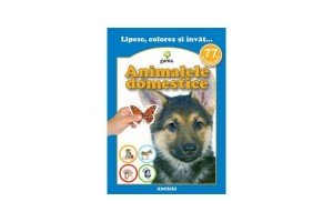 Lipesc, colorez si invat... Animale domestice