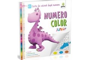 Numero color junior plus – Carte de colorat dupa numere 4+ ani