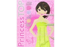 Carte de colorat Princess Top