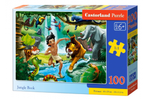 Puzzle 100 piese Jungle Book - Castorland