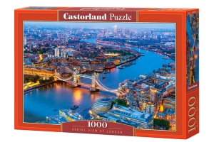 Puzzle 1000 piese Aerial View Of London - Castorland
