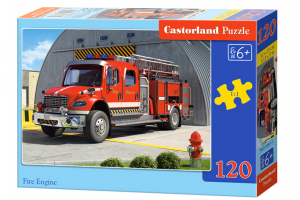 Puzzle 120 piese Fire Engine - Castorland