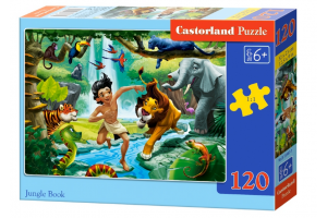 Puzzle 120 piese Jungle Book - Castorland