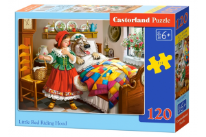 Puzzle 120 piese Little Red Riding Hood - Castorland