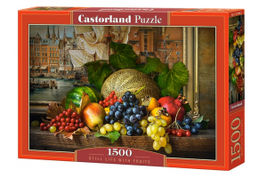 Puzzle 1500 piese Still Life With Fruits - Castorland