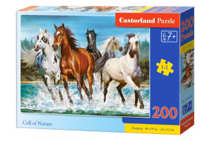 Puzzle 200 piese Call Of Nature - Castorland