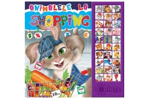 Animale la shopping. Carte cu sunete - Editura Dorinta