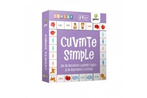 Domino. Cuvinte simple - 4-6 ani