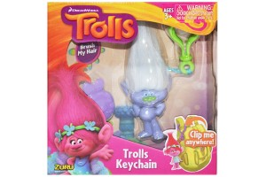 Zuru Trolls- Large Key chain,+1 an