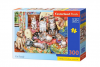 Puzzle 300 piese Cat Family - Castorland