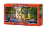 Puzzle Panoramic 600 Piese Steamy Mornings - Castorland