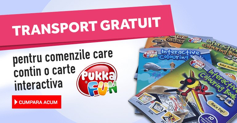 Transport gratuit Pukka Fun